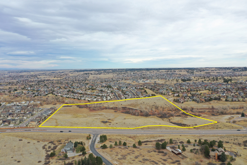 Aerial of Development land in Parker, CO