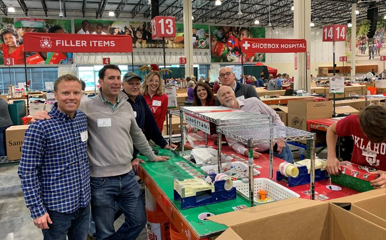 Fuller Crew Volunteers at Operation Christmas Child