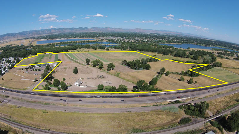 77 Acres on S. Santa Fe Drive For Sale
